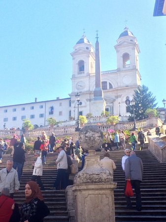 Driver Guide Service: The Spanish Steps