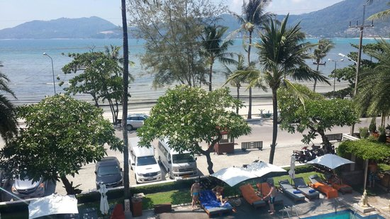 Seaview Patong Hotel : Seaview from room