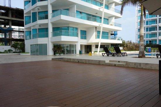 Sonesta Hotel Cartagena: Vista do Restaurante