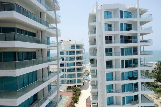 Sonesta Hotel Cartagena: Vista do Quarto