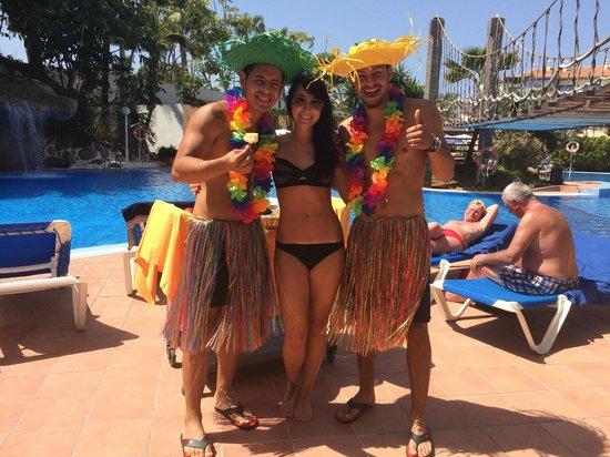 Hotel Best Tenerife: Alex und Brian