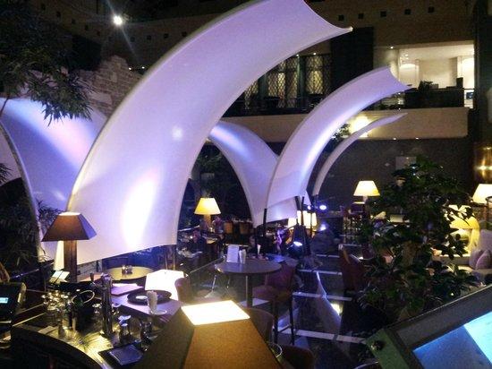 Radisson Blu Royal Hotel, Brussels : Restaurant l'Atrium