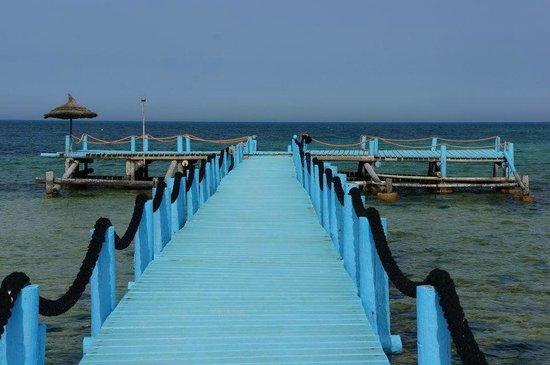 Odyssee Resort & Thalasso : Le ponton