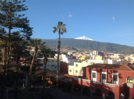 Marquesa Hotel: Mount Teide from our balcony