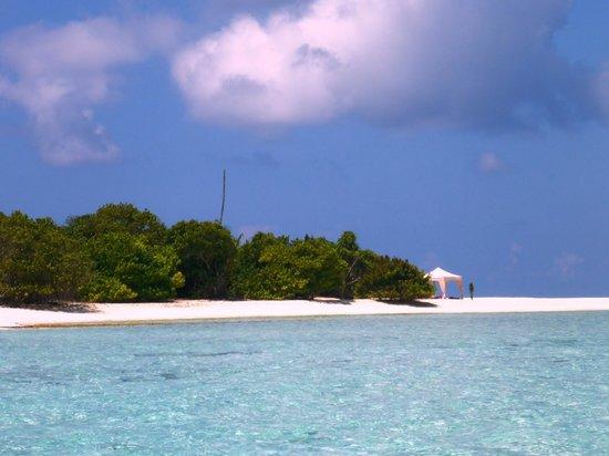 "COMO Maalifushi, The Maldives : ""Our"" island for the private picnic"