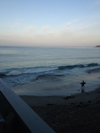 Pacific Edge Hotel on Laguna Beach: Our first morning view!  What a wonderful view to wake up to!