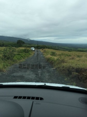 Diana Dea Lodge : the worst of the road up to the hotel!