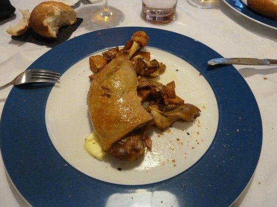 l'Auberge du PELICAN : Duck with Vegetables