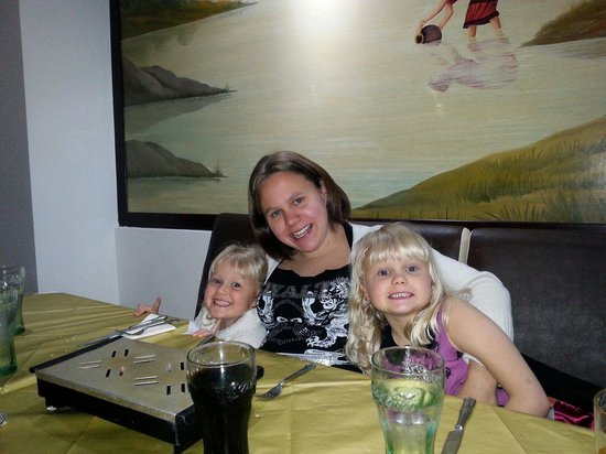 The Curry Garden: Little ones enjoying there first curry
