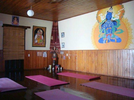 Ganesha Posada : Salón Yoga