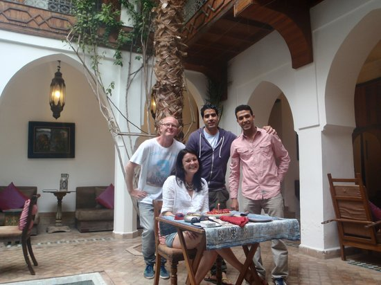 Riad lyla Marrakech : Birthday celebrations