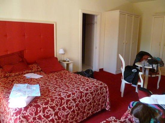 Hotel alla Salute: notre chambre familiale