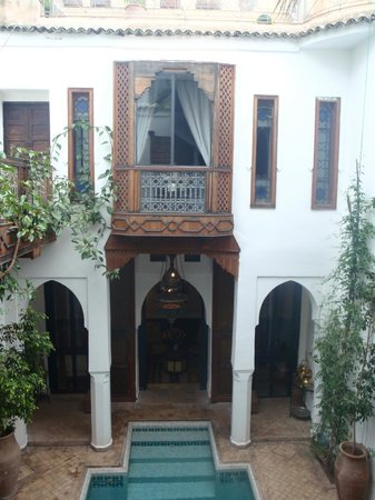 Riad lyla Marrakech : View from our front room