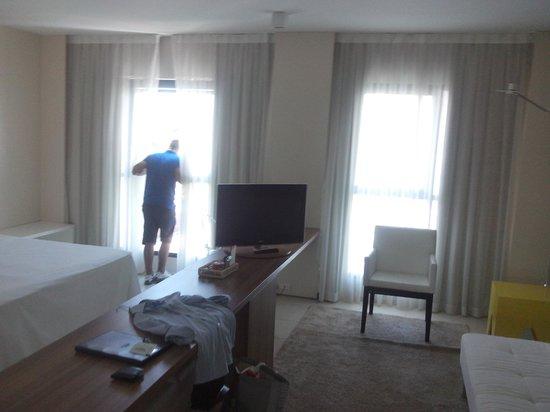 Meridiano Hotel: Quarto casal