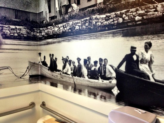 Quicks Hole Tavern: New murals feature old photos of Woods Hole in the 1890s