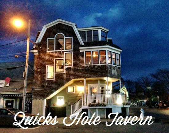 "Quicks Hole Tavern took over the old ""Leeside"" building"