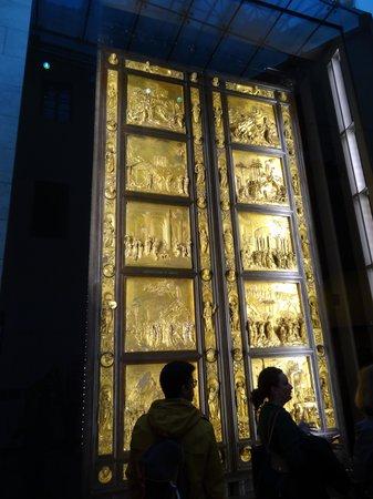 Museo dell'Opera del Duomo : Original doors