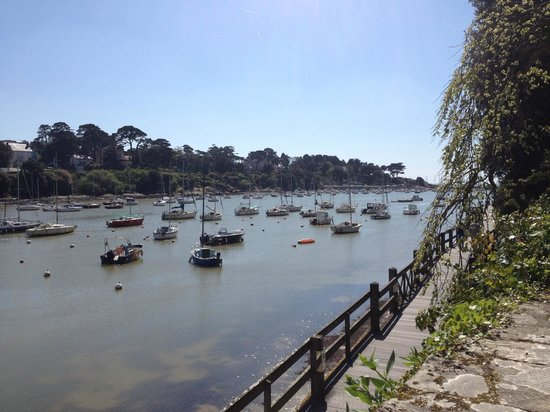 La Fraiseraie : вид на бухту