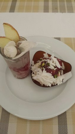 Djerba Plaza Hotel & Spa: Desserts excellents
