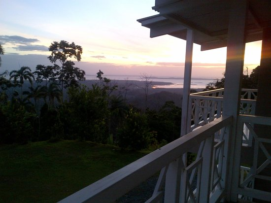 Bocas Ridge Hotel: See the Caribbean Ocean and Almirante town from your balcony on the ridge
