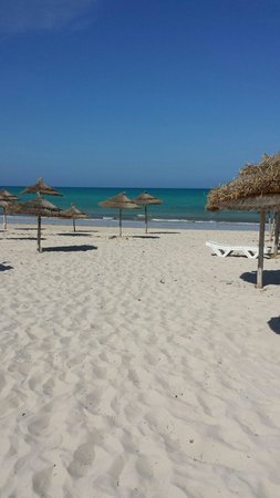 Djerba Plaza Hotel & Spa: Plage avril 2014