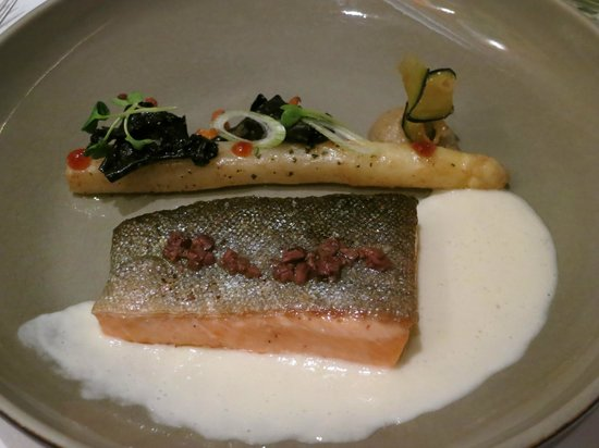 Ma Langue Sourit : Salmon Dish