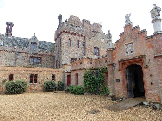 Oxburgh Hall: Inside the Courtyard