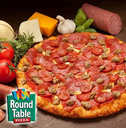 Enjoy Your Favorite Round Table Pizza Picture Of Round Table - Round table delivery near me