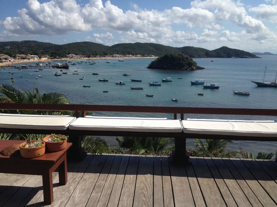 Vila D'este: Vista do Deck