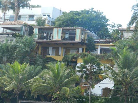 Vila d'este: Hotel visto da Orla Bardot