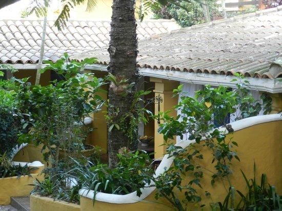Vila d'este: Varanda do Quarto 03 - Superior Jardim
