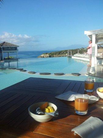 La Toubana Hotel & Spa: Petit Dej au paradis