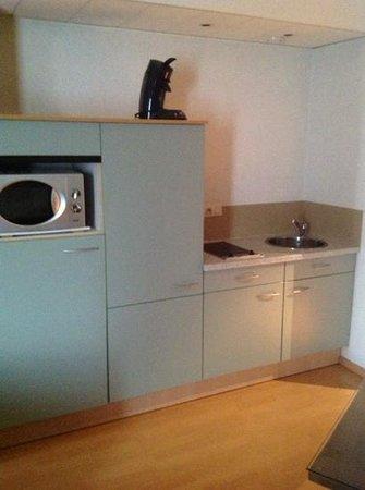 Aparthotel Brussels Midi : Kitchenette