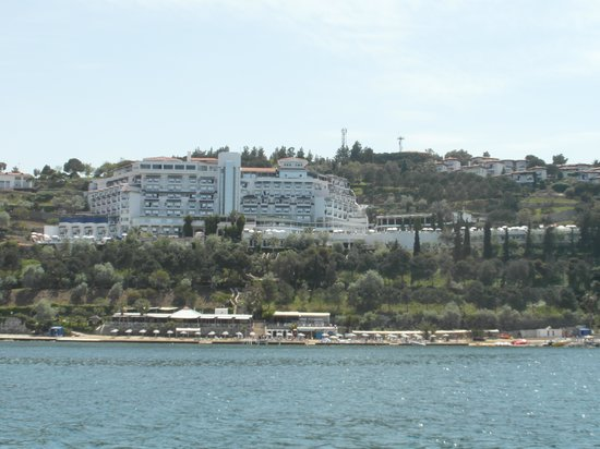 Labranda Ephesus Princess: view from pier across the bay