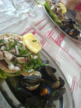 Zi Mariuccia: antipasto di mare buonissimo
