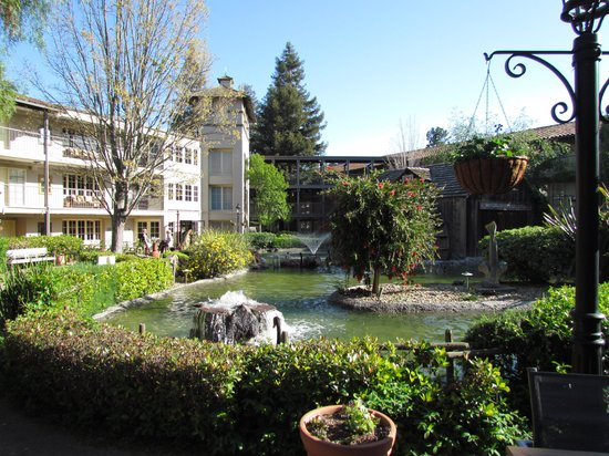 Embassy Suites by Hilton Napa Valley : Jardim do hotel