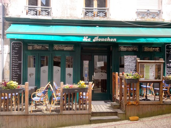 Le Bouchon : terrasse