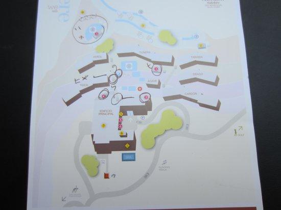 Sheraton Gran Canaria Salobre Golf Resort: Lageplan