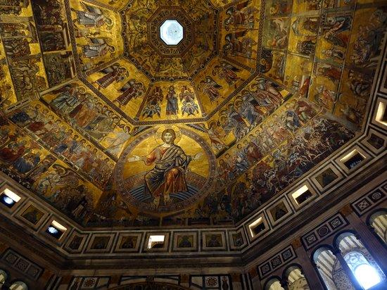 Baptistery of San Giovanni (Battistero) : Inside
