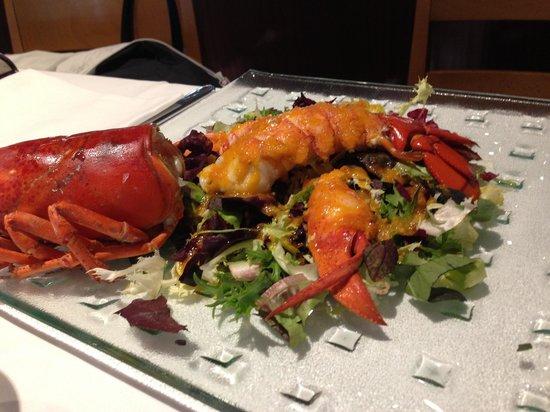 Torreon : Lobster salad