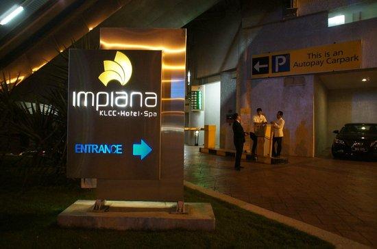 Impiana KLCC Hotel : Вход