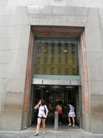 Tiffany & Co. : ingresso