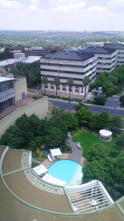 Garden Court Sandton City - a view from the 9th floor