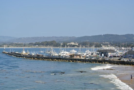 Monterey Bay Inn : The warf