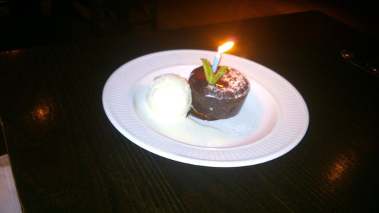 Cote Brasserie - Hampstead: Happy Birthday !