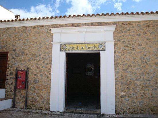 Aracena, إسبانيا: Entrada