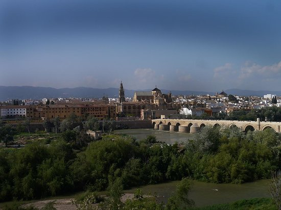 Hesperia Córdoba: VISTA DESDE LA TERRAZA