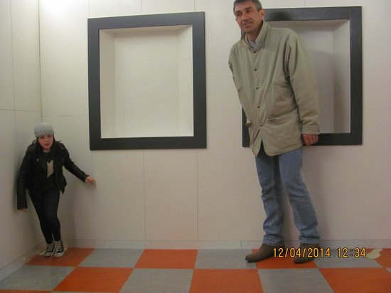 Camera Obscura and World of Illusions: little and large