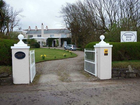 Whitepark House: B&B Entrance