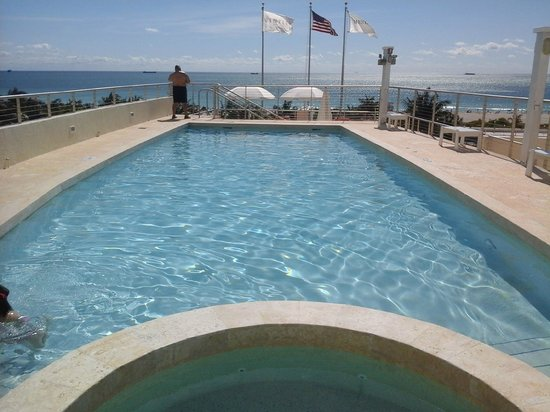 Bentley Hotel South Beach : piscina del Bentley Hotel